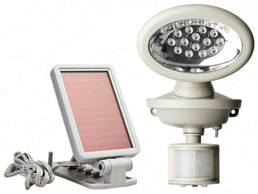 Solar Powered Motion Activated 14 Led Security Spotlight (t4493)
