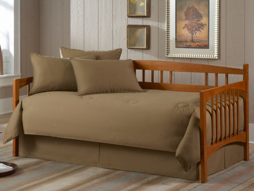 Solid Khaki Paeamount 5-poece Daybed Bedding Set (u8422)