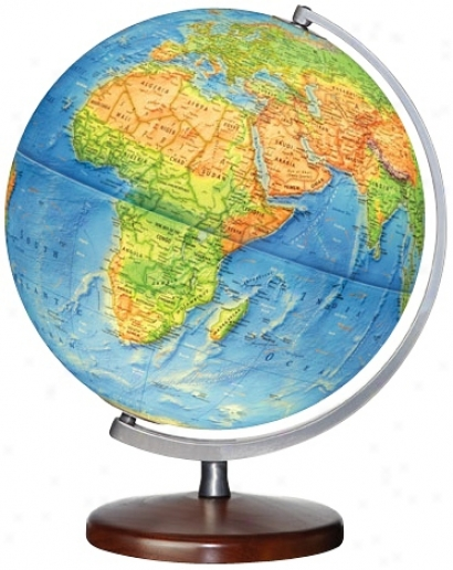 "Somerset Blue Ocean 15"" High Illuminated Globe (w2900)"