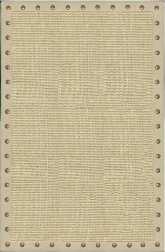 "Sonoma Sisal Collection Tan 16""x27"" Area Rug (v4532)"