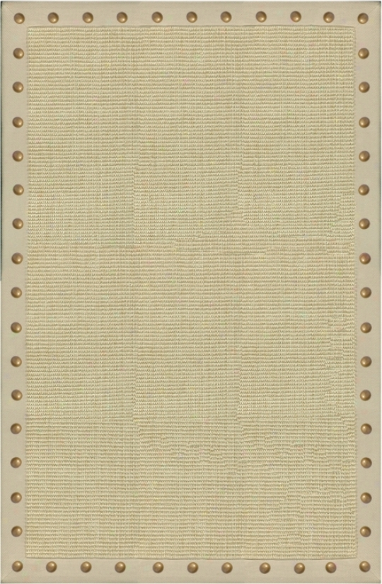 "Sonoma Sisal Collection Tan 5x7'5"" Area Rug (v4536)"
