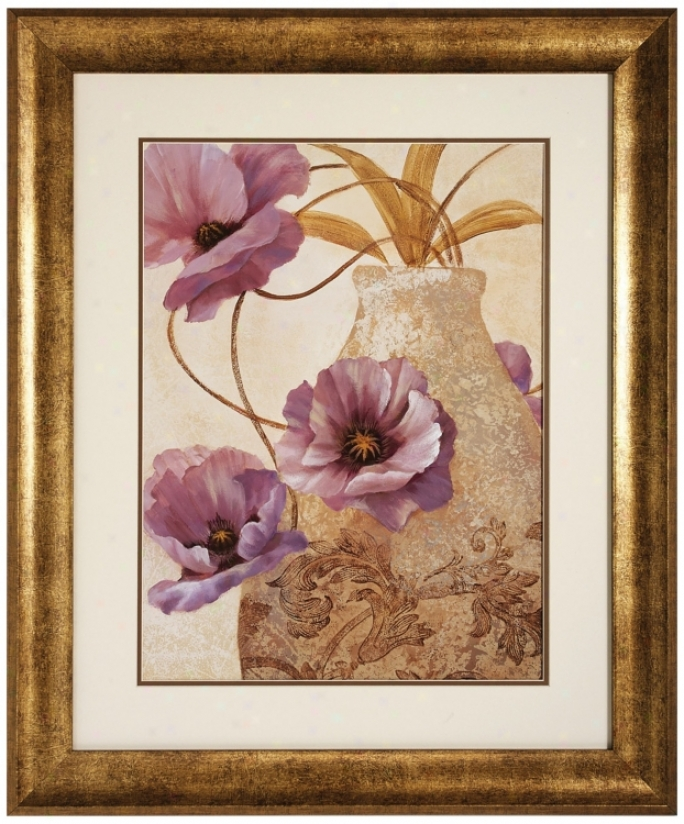 "Sophistication Ii 35"" High Wall Art (v6953)"