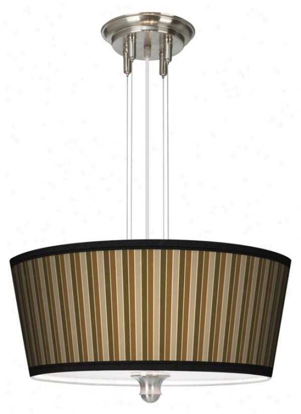 """Sorrel Vrtical 18"""" Wide 3-light Ear-ring Chandelier (m2296-m4144)"""