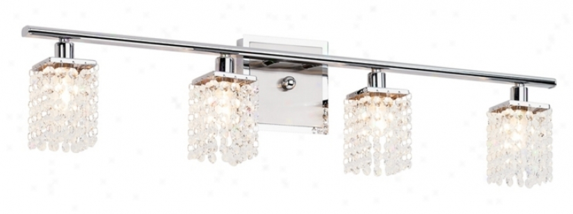 "Sparkle Collectioon 30 1/2"" Wide Bathroom Light Fixture (89287)"