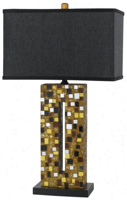 Sparkle Mosaic Table Lamp (n4620)