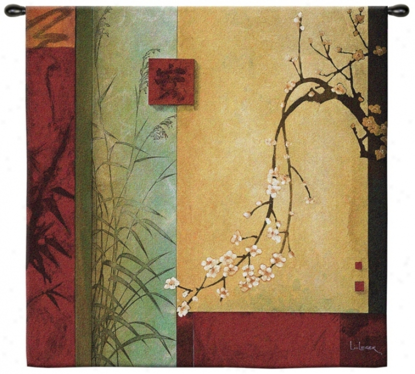 "Spring Chorus Large 53"" Adjust Wall Hanging Tapestry (j8981)"