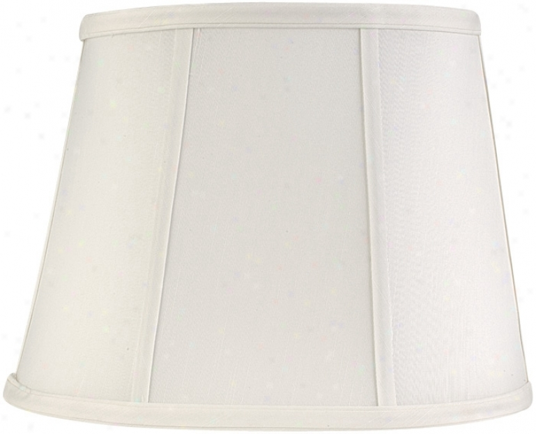 Springcrest™ Cream Oval Lamp Shade 6.5x8x9 (spider) (76984)
