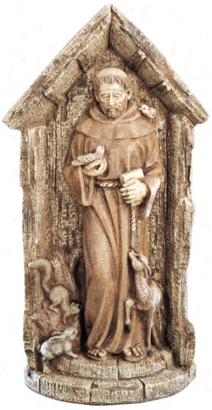 St. Francis Garden Statue Yard Decor (26043)