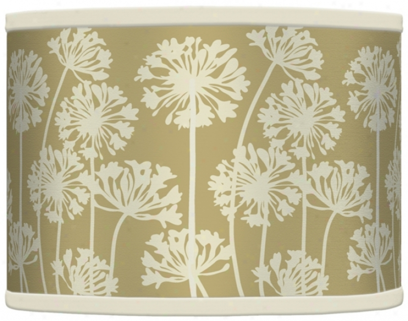 Stacy Garcia African Lily Birch Shade 13.5x13.5x10 (spiderr) (37869-h7045)