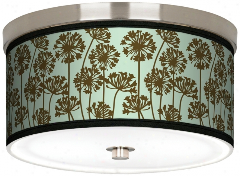 "StacyG arcia African Lily Ice 10 1/4"" Wide Ceiling Light (j9214-k1693)"