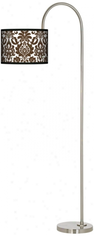 Stacy Garcia Countess Florence Arc Tempo Floor Lamp (m3882-n0373)