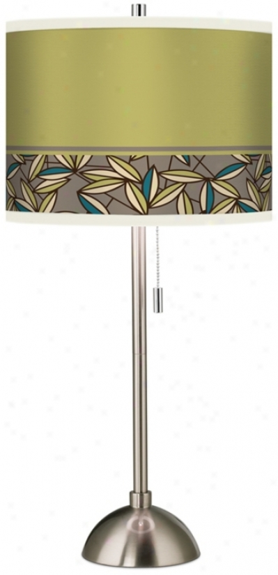 Stacy Garcia Floral Chorus Giclee Table Lamp (60757-j2624)
