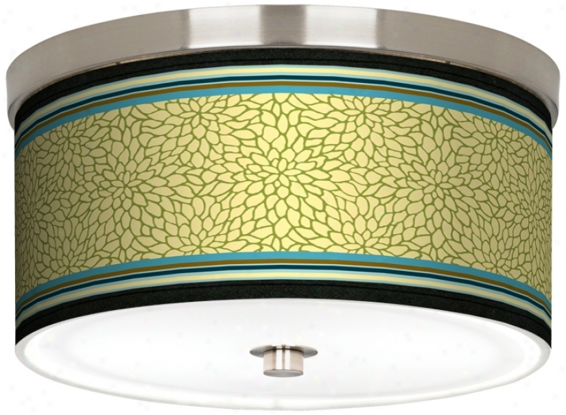 "Stacy Garcia Kiwi Tini Dahlia 10 1/4"" Wide Ceiling Gay (j9214-k1660)"