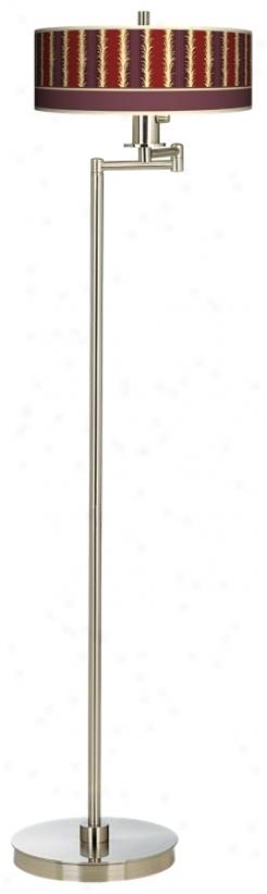 Stacy Garcia Lexington Stripe Swing ArmF loor Lamp (13024-j9189)