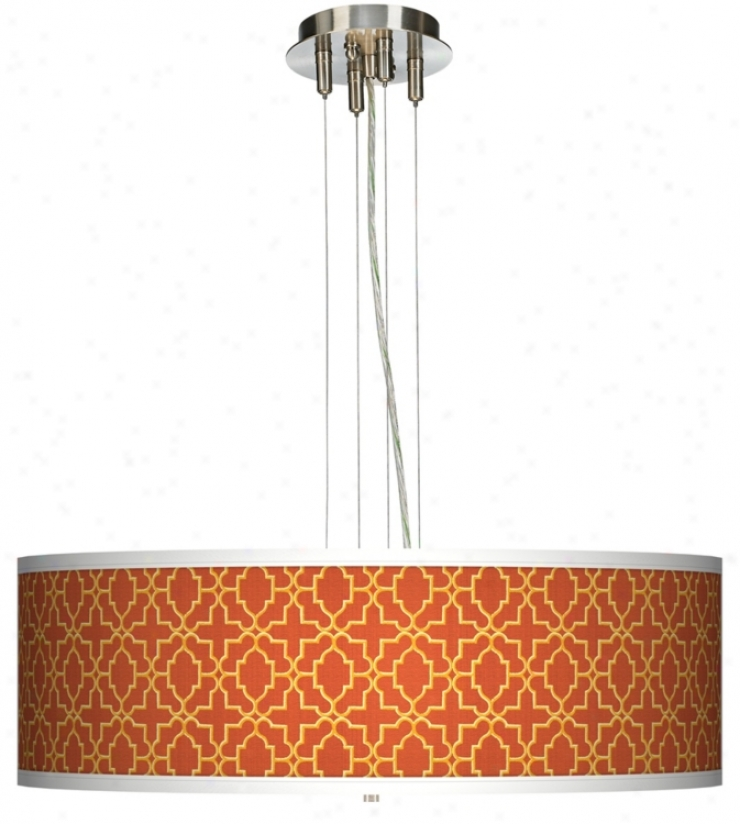 "Stacy Garcia Santorini Sunset 24"" Wide 4-light Pendant Light (17276-k9199)"