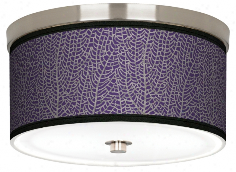 "Stacy Garcia Seafan Rich Plum 10 1/4"" Wide Ceiling Light (j9214-k3524)"