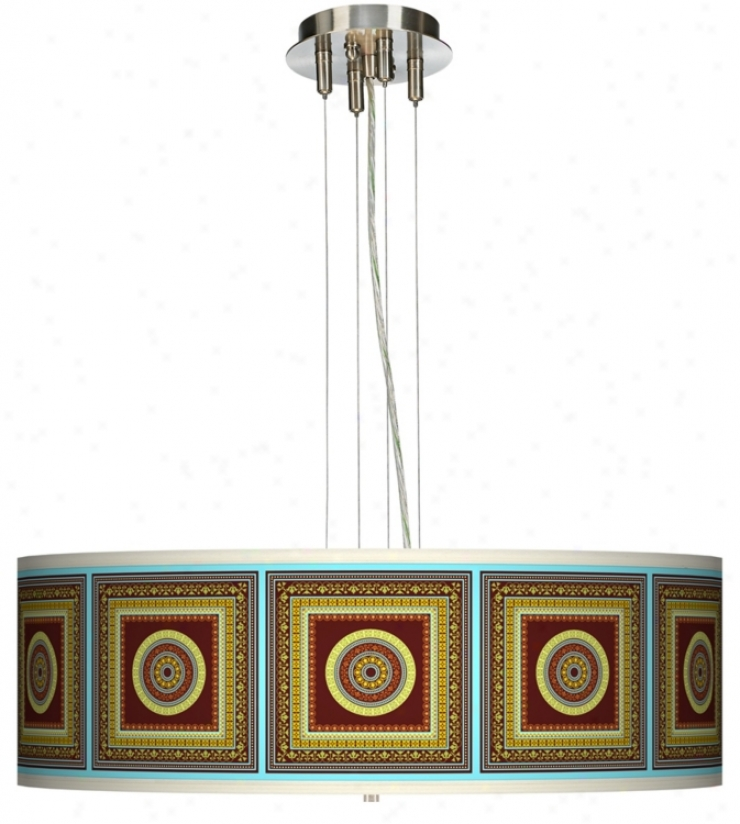 "Stacy Garcia Tiber Garnet 24"" Wkde 4-light Pendant Light (17276-k9200)"