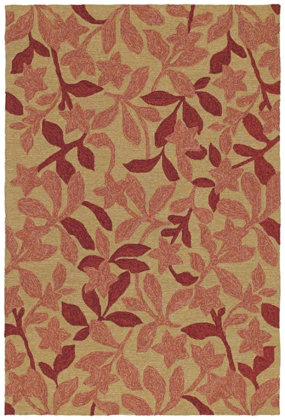 "Star Fish Cinnamon 7' 6"" X 9' Area Rug (p0466)"
