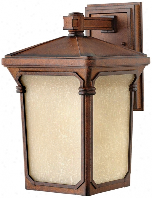 "Stratfodd Collection Auburn 16"" High Outdoor Wall Light (k0749)"