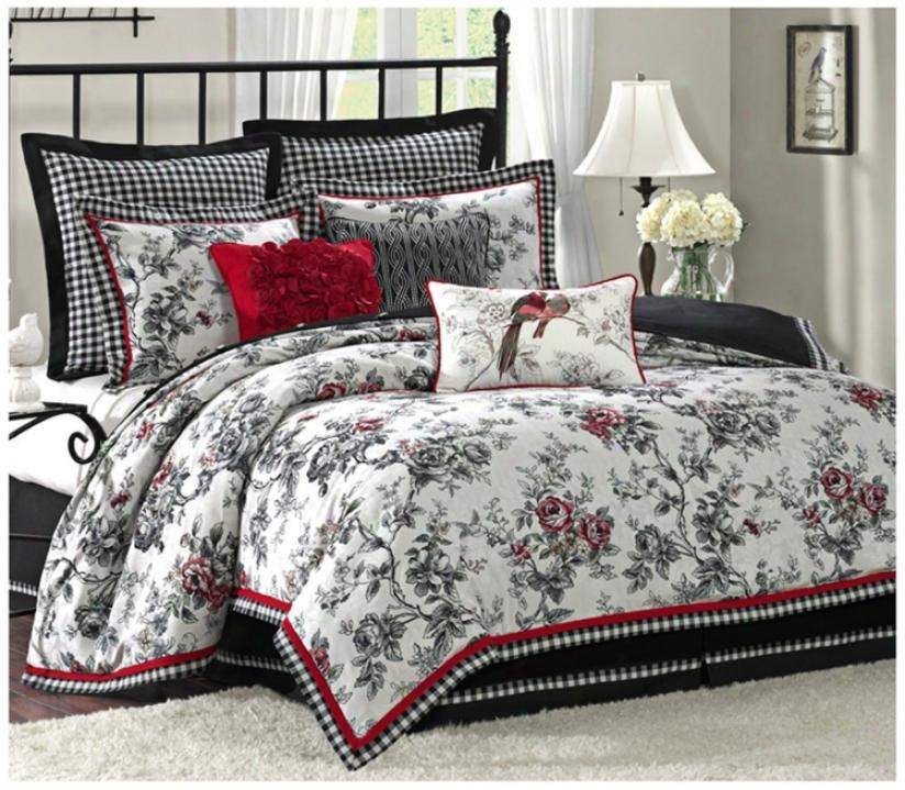 Summerfield Comforter Bedding Set (queen) (t9336)
