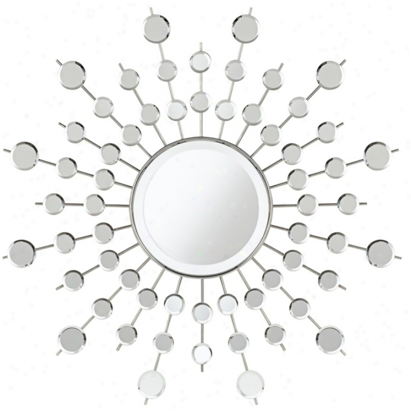 "Sunburst Rays 29 1/2"" Wide Wall Mirror (t4579)"