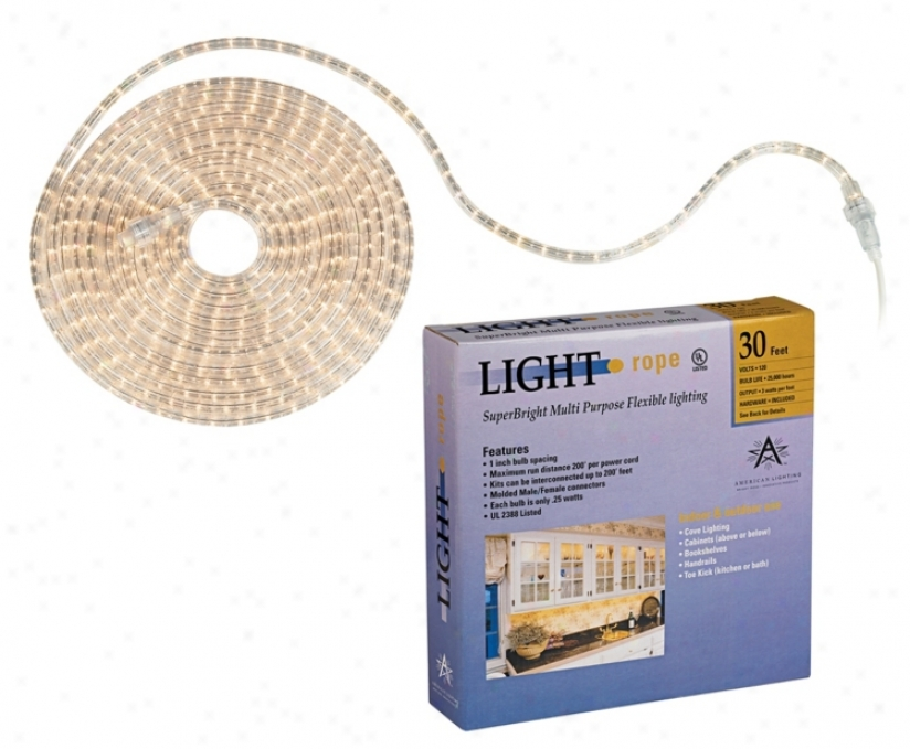 Superbright 30 Foot Long Rope Light (81128)