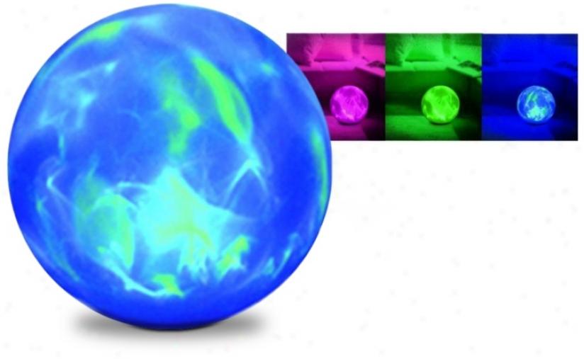 """Supernova 8"""" Color Changing Sphere (k2968)"""
