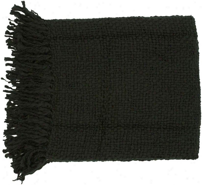 A black throw blanket is the perfect addition to any home and they also make great gifts too! Find a black throw blanket in fleece, cashmere, faux fur and more. Drape one over your favorite chair to read in to make for a cozy and relaxing reading nook or place a black throw blanket over your couch strategically for functional decor.
