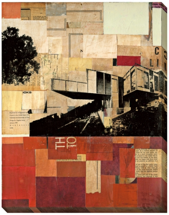 Sustainable Living Ii Giclee 48&uot; Dear Wall Art (l0537)