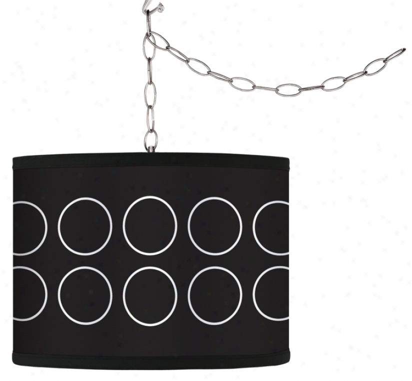 Swag Style Portholes Shaxe Plug-in Chandelier (f9542-g4297)