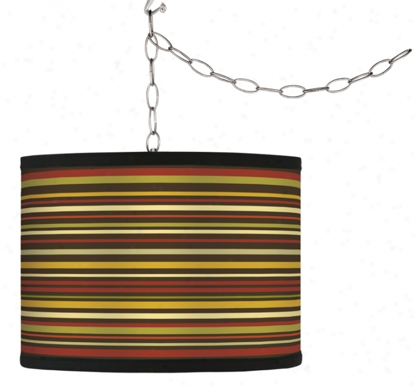 Swag Style Spice Strile Shade Plgu-in Chanselier (f9542-g9557)