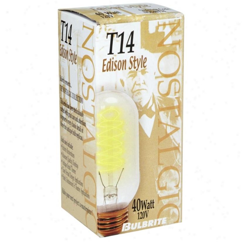T14 Edison Style 40 Watt Light Bulb (u5000)
