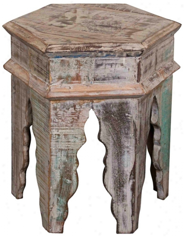 Tannez Marrakesh Simple Wood Table (v8808)