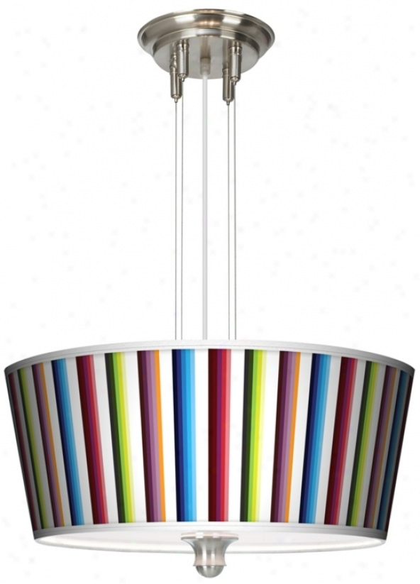 "Technocolors 18"" Remote 3-light Chandelier Chandelier (m2296-p7706)"