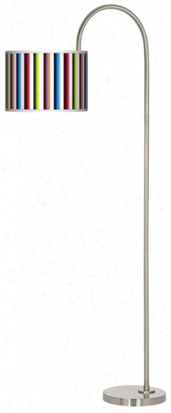 Texhnocolors Arc Tempo Giclee Floor Lamp (m3882-p7774)