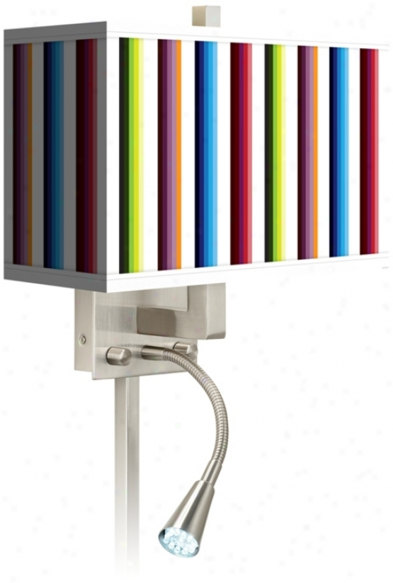 Technocolors Giclee Led Reding Light Plug-in Sconce (n86711-p7756)