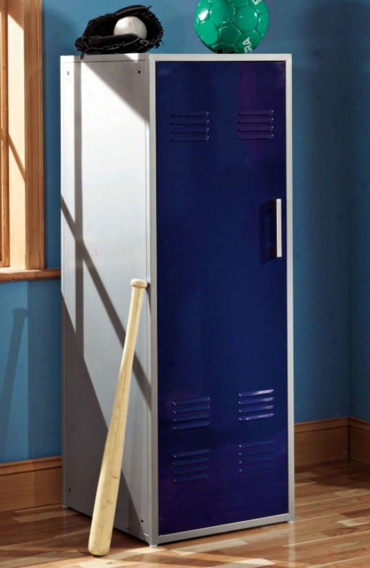 Teen Trends Collection Navy Livid Storage Loxker (g8640)