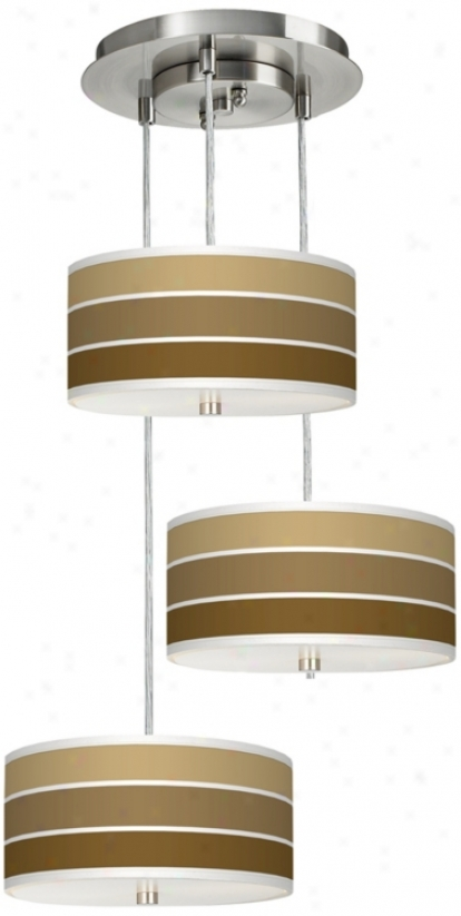 Terra Bamboo 3-in-1 Drum Shade Giclee Pendant (m2298-u4656)
