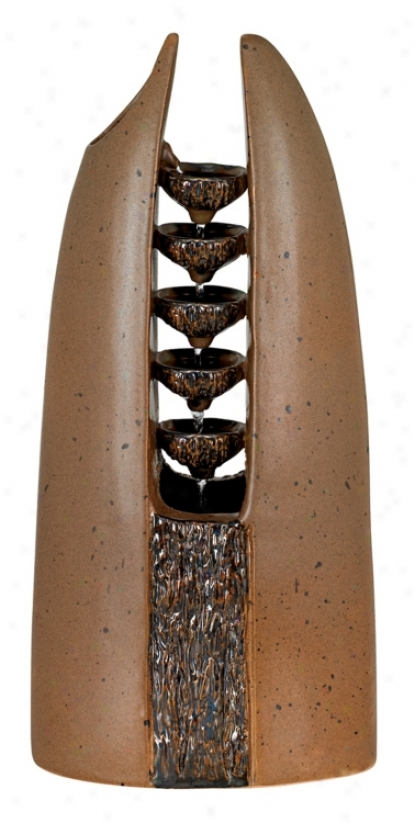 Terracotta Cateract Indoor Source (24170)