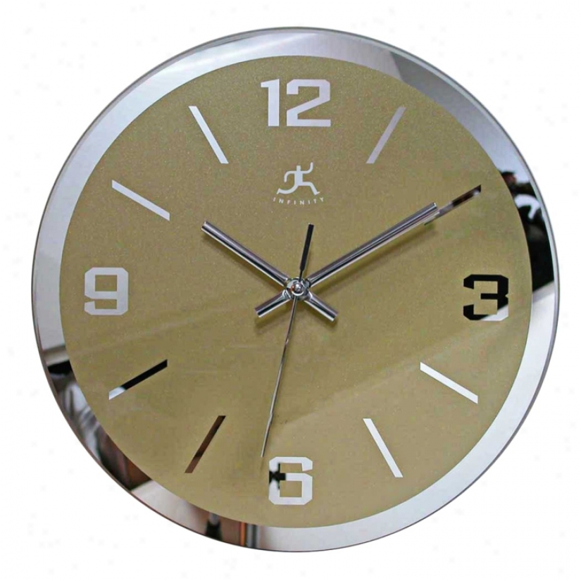 "The Gazer 11"" Wide Wall Clock (j4629)"