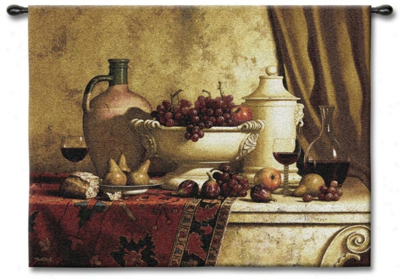 "The Great Feast Large 66"" Wide Wall Tapestry (j8682)"