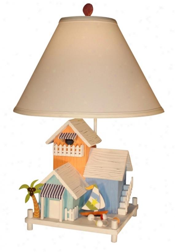 Three Beach House Table Lamp (60200)
