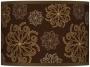 Chocolate Blossom Giclee Lamp Shade 13.5x13.5x10 (spider) (37869-u1716)