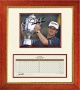 David Toms And Trophy With Scorecard Autographed Golf Photo (f3492)