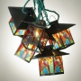 Miswion-tiffany Style Labtern String Party Lights (92567)