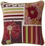 "Multi-stripe Daisirs 19"" Suit Pillow (g2880)"