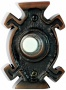 Nutone Kewadin Oil-rubbed Bronze Wired Push-button Doorbell (t0155)