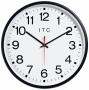 "Stalwart Round 12"" aRdio Controlled Wall Clock (w1013)"