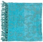 Surya Tristen Aqua Throw Blanket (r6615)