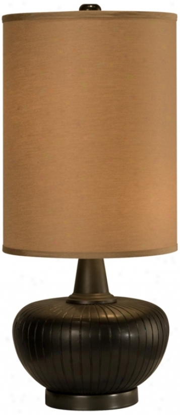Thumprints Graphite Table Lamp (r49444)